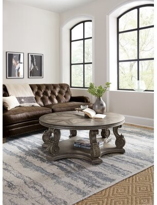 Hooker Furniture Woodland Floor Shelf Coffee Table