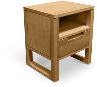 Calibre Furniture Malik Bedside Table 1 Drawer