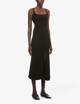 ANNA QUAN Jana cotton-knit midi dress