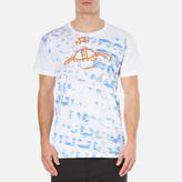 Vivienne Westwood Man Manhole Rubbings Tshirt - White