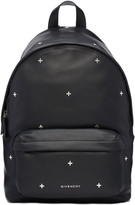 Givenchy Black Leather Cross Backpack
