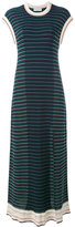 Sonia Rykiel striped maxi dress - women - Cotton/Viscose - M