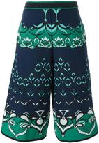 M Missoni intarsia short trousers