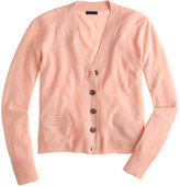 J.Crew Collection cashmere V-neck cardigan sweater