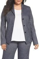 Plus Size Women's Persona By Marina Rinaldi Caraibi Denim Jacket