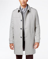Kenneth Cole New York Wool-Blend Eapulet Walker Coat