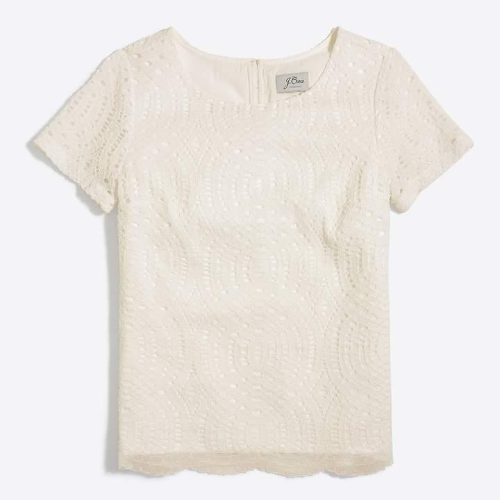 J.Crew Lace T-shirt
