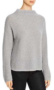 Eileen Fisher Petites Cashmere Funnel Neck Sweater