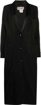Jean Paul Gaultier Pre Owned Straight Long Coat