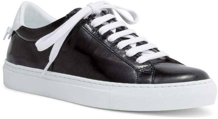 Givenchy Urban Street Black Leather Sneakers