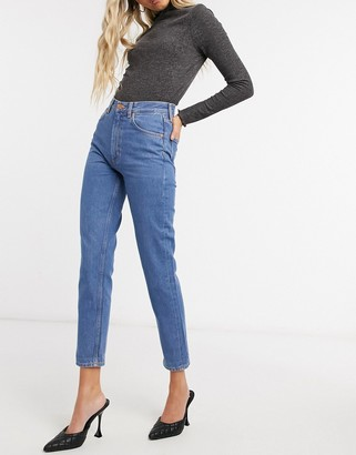 MiH Jeans Mimi high-waist slim leg jeans in blue