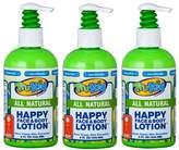TruKid 3 Pc Value Pack Happy Face & Body Lotion - Super Safe & Sensitive Lotion