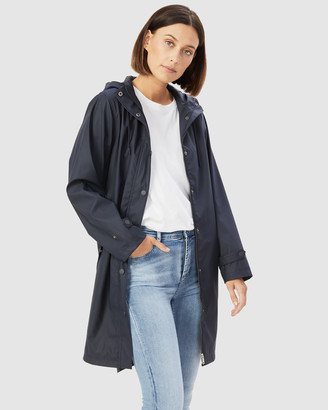 French Connection Women's Coats & Jackets - Lola Raincoat - Size One Size, 6 at The Iconic
