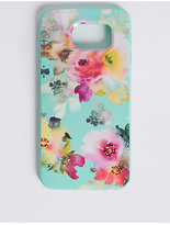 M&S Collection Samsung S6® Floral Print Phone Case