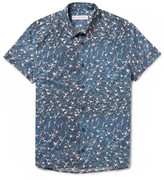 Orlebar Brown - Pelham Slim-fit Printed Cotton-poplin Shirt