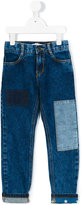 Little Marc Jacobs patchwork jeans - kids - Cotton/Polyester - 5 yrs