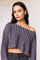 Silence & Noise Silence + Noise Kylie Ribbed Cropped Sweater
