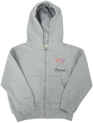 Bonpoint X The Webster Logo Hooded Sweatshirt Grey