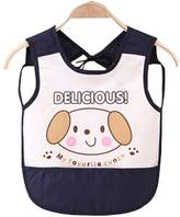 Panda Superstore Waterproof Baby Bib Overclothes Painting Smock Apron Sleeveless