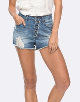 Roxy Womens Across The Sun Denim Short