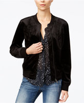 Sanctuary Velvet Bomber Jacket