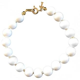 Trifari White Metal Bracelets