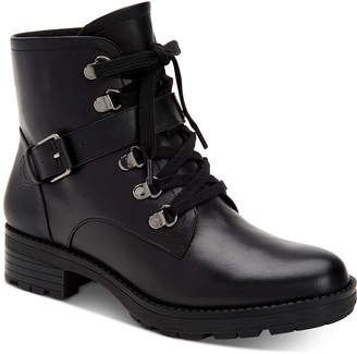 Giani Bernini Naomii Memory-Foam Lug-Sole Booties, Women Shoes
