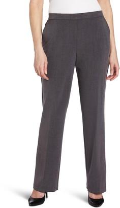 Briggs New York Women's Short Flat Front Straight Leg Pant