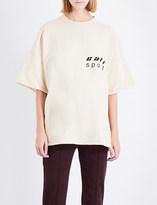 Yeezy Season 5 oversized cotton-jersey T-shirt