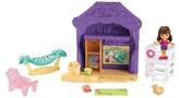 Dora the Explorer Fisher-Price Nickelodeon and Friends Beach Cabana Playset