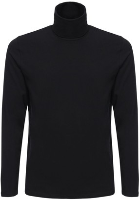 Jil Sander Cotton Turtleneck T-Shirt