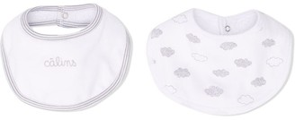 Absorba 2-Pack Cotton Bib