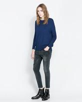 Zara Basic Long Sweater