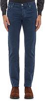 Isaia Men's Cotton Slim Jeans-NAVY