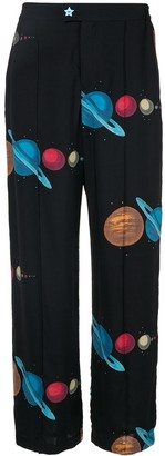 Undercover space print trousers