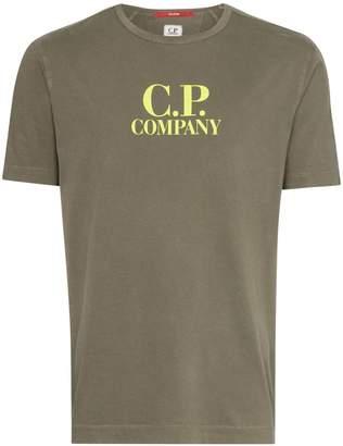 C.P. Company logo printed T-shirt