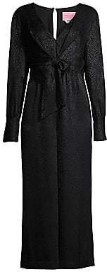 Kate Spade Women's Tie Front Jumpsuit - Size 0