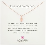 Dogeared Love and Protection, Heart Hamsa Necklace Necklace