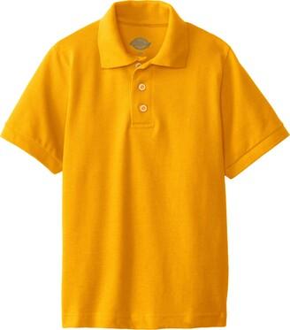Dickies Big Boys' Short Sleeve Pique Polo Shirt