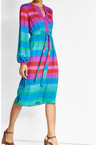 Etro Striped Silk Dress