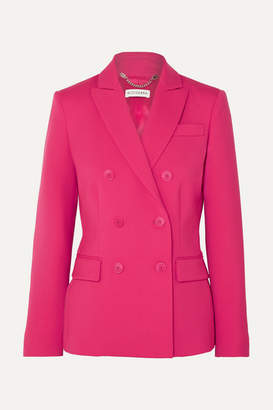 Altuzarra Indiana Double-breasted Wool-blend Blazer - Bright pink