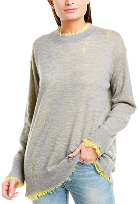 R 13 Reversible Cashmere Sweater