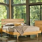 Baronville Platform Bed Brayden Studio Color: Caramelized, Size: King