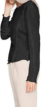 Thumbnail for your product : b new york Long Sleeve Seam Detail Top