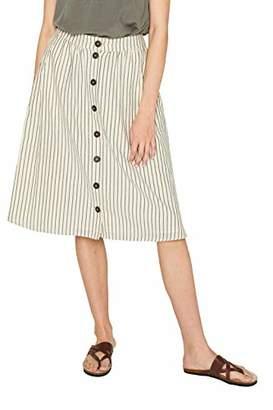 Esprit Women's 059ee1d008 Skirt, (White 2 111), 16 (Size: )