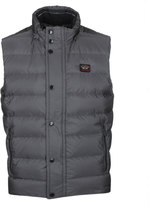 Paul & Shark Charcoal Grey Padded Gilet