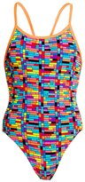 Funkita Girls' Stacked Up Single Strap One Piece Swimsuit 8148402