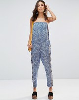 French Connection Bali Border Jumpsuit
