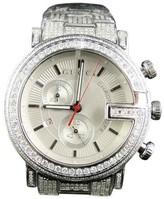 Gucci Ya101334 Custom 101 G Chrono Real 44 MM 8.85 Ct Diamond Mens Watch