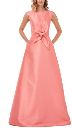Kay Unger Kincaid Lola Twill Gown